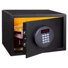 Digital hotel safe with LED display