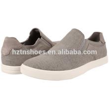 Оптовые мужские ботинки холст 2016 Китай фабрика дешевые случайные мужской обуви