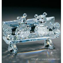 Rato de cristal para presentes de férias (JD-CT005) na China