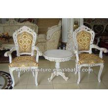Dormitorio de hotel silla de moda y mesa de té establece XYD090