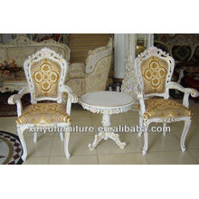 hotel bedroom fashion chair and tea table sets XYD090