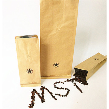 MST Coffee Side Gusset Pouch tanpa Zipper