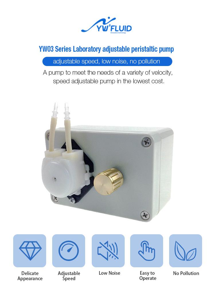 YWfluid laboratory peristaltic pump oem with certificate