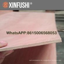 3,2 mm de madera contrachapada comercial contrachapado Linyi ciudad precio barato