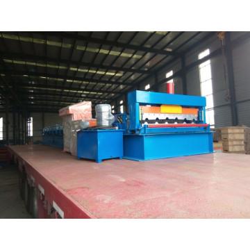 Автоматическая машина для производства цветных стальных листов