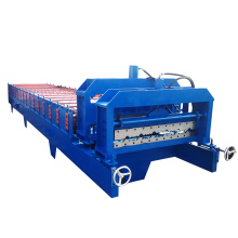 Colorful steel roofing tile rooll forming making machine