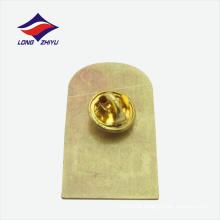 Significado emblema lindo da lapela da forma do retângulo dourado