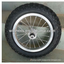 High quality High Performance Strong 12 inch Pneumatic spoke wheels