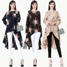 Modest fashion premium islamic clothing high quality women muslim blouse
