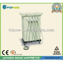 Unité dentaire portable portable approuvée CE (modèle: FNP110)