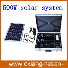 2015 Vente chaude 500 w porte-documents valise portable solaire générateur