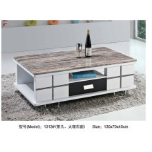 Beautiful Marble Cover Coffee Table for Living Room (1313)