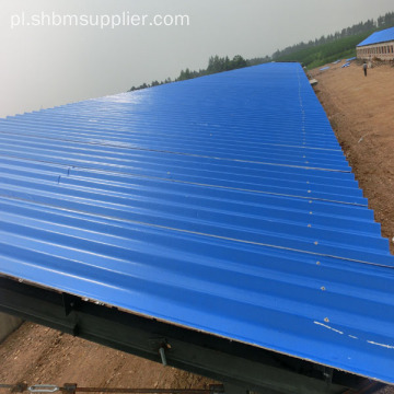 MGO Anti-corosion Fireproof Corrugated Roofing Sheets