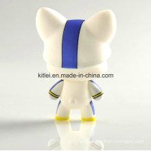 De alta calidad Rotocast plástico bebé animal figura de acción muñeca de juguete