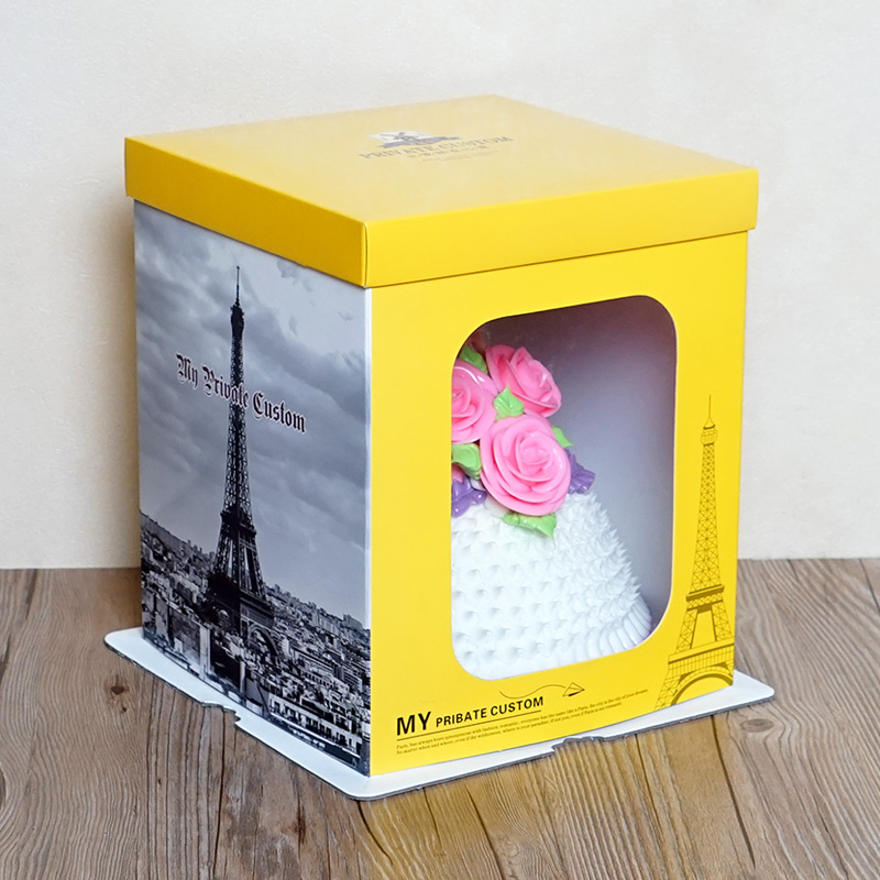 Big cake packaging box tall