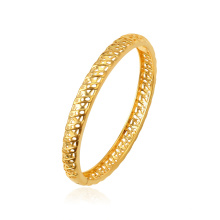 52254 XUPING Good Quality Hollowed Design Fashion 24K Gold Color Delicate Jewelry Bangle