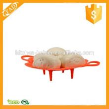 Altamente resistente al calor BPA libre de silicona alimentos vaporizador colador filtro cesta
