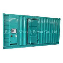Schalldichter Dieselgenerator des Dieselgenerator-CUMMINS 630kVA