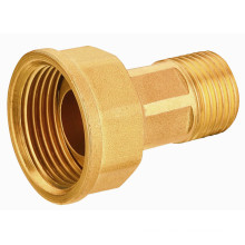 T2061 Latón de alta calidad que monta para el gasoducto, ajuste de rosca EN331 Qualified Brass Adapter