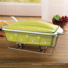 Ustensiles de cuisson en porcelaine antiadhésive (ensemble)