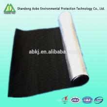3-15мм огнезащитное волокно войлок\углеродного волокна чувствовал с металлизированной пленкой;