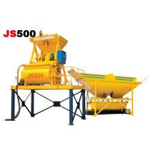 Misturadora de betão JS750 Double Axle Misturadora