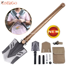 Stainless Steel Metal Mini Tactical Military Foldable Shovel