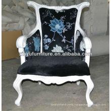 Wooden baroque armchair XY0038