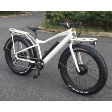 Motorlife / OEM 2017 neue 26-Zoll-Federung Fett Reifen Elektro-Mountainbike 500W Bafang Moto und LG Batterie 48V / 14.5A ebike