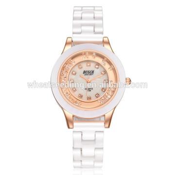 Yiwu fournisseur simple en céramique en gros montre bracelet en gros