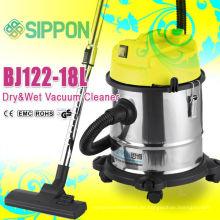Alta calidad del motor de agua / polvo de limpieza de acero inoxidable húmedo y seco Aspirador BJ122-18L / 1200W Appliance / Colector de polvo
