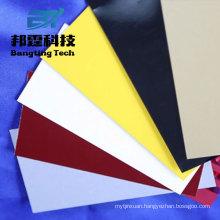 PE PVDF prepainted color aluminum sheet metal