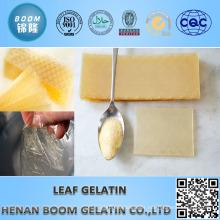 high jelly strength 200bloom leaf gelatin