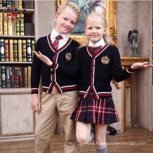 2016 Fashion Broderie Personnaliser Uniforme scolaire