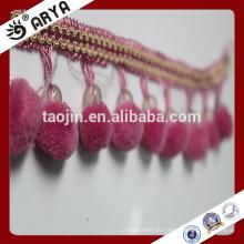 Stock Lace Perlen Fransen für Vorhang Dekoration