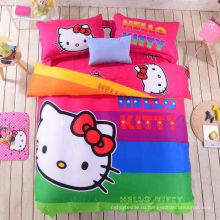 Hello Kitty 100% хлопок набивной ткани для девочек с хорошим качеством