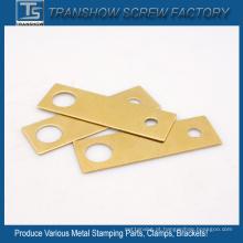 Metal revestido de latão que carimba as peças