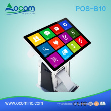 """POS-B10 Windows or android 10.1"""" all in one touch screen pos machine price with embedded printer"""