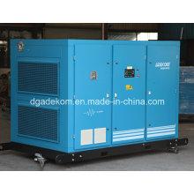 Compresor de aire de tornillo rotativo lubricado con aceite estacionario VSD (KF160-08INV)