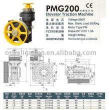 Machine de traction d'ascenseur (série PMG)