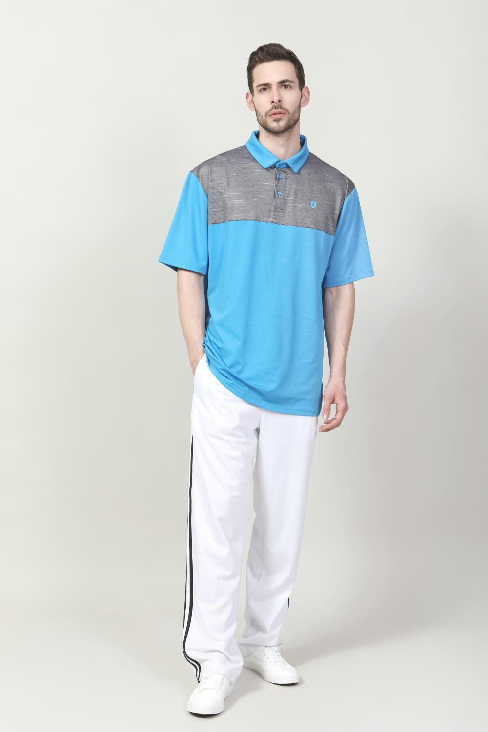 MEN'S DIGITAL PRINTED GOLF POLO SHIRT