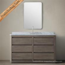 Fed-203A Classic Vanidad de baño de madera de roble