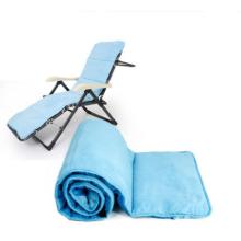 Cadeira de dobramento de pouco peso do sofá-cama do colchão do algodão dos PP do café