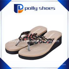 Womens Sandal Ladies Slip on Shoe Woven Summer Flip Flop