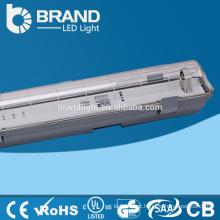 Impermeável IP65 Tube Luz Caixa LED Tri-Proof Light Fixture, CE RoHS