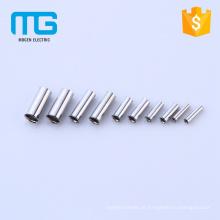Terminais despidos Não-isolados de cobre duráveis do fim do cabo com ROHS