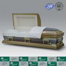 China Supplier LUXES American Popular Selling 18ga Metal Casket