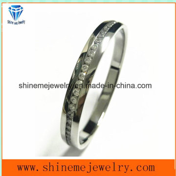 Shineme Schmucksache-Qualitäts-Edelstahl-Armband mit Stein
