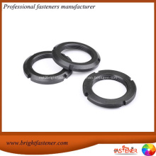 Lock nuts for use with rolling bearings