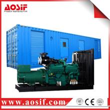 AOSIF powerful diesel engine generator trailer used for sale
